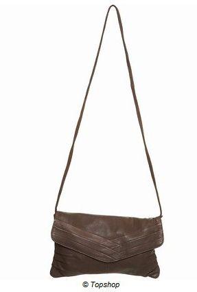 Kahverengi tonunda çapraz çanta